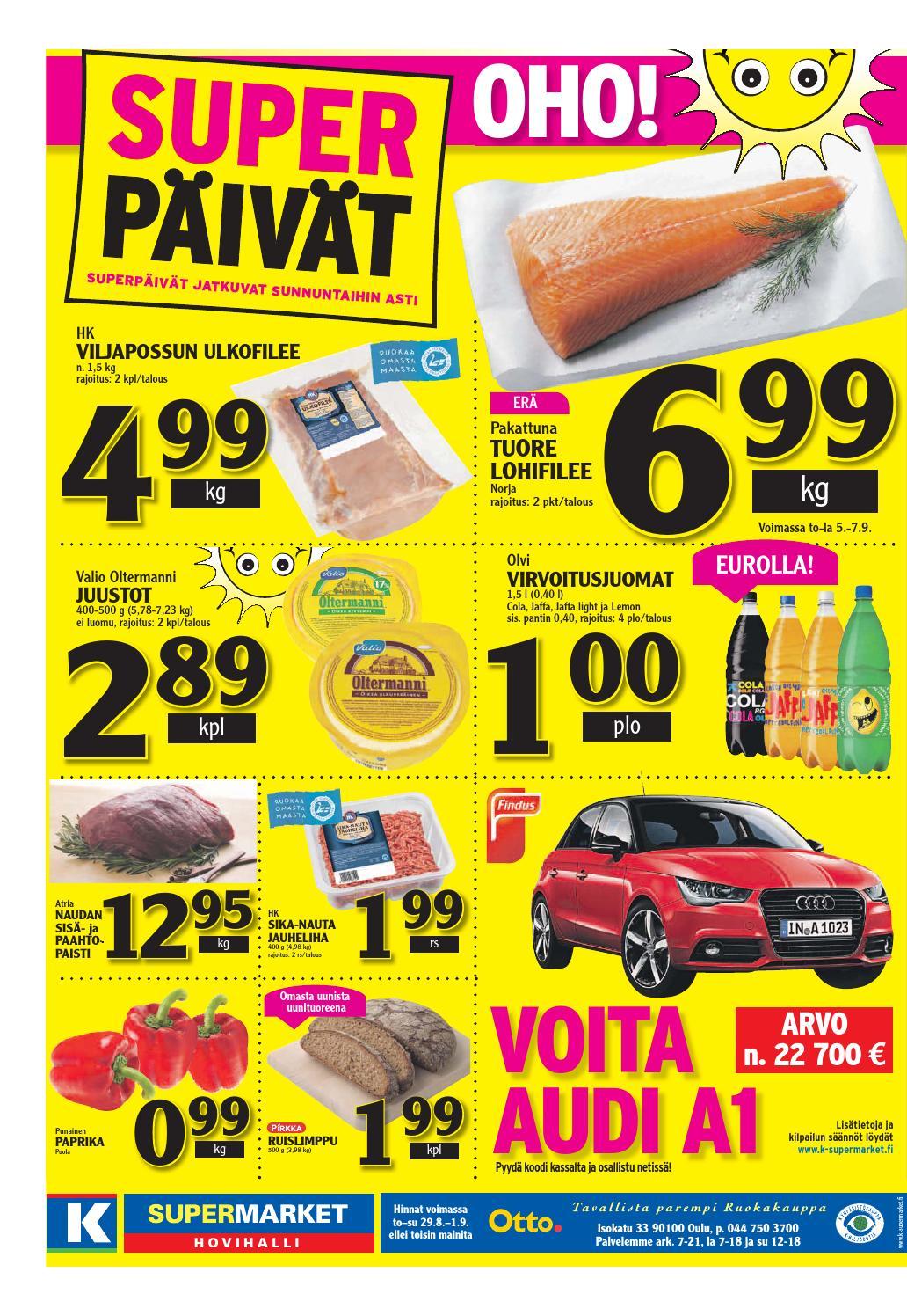 K-Supermarket.Fi Voita Audi