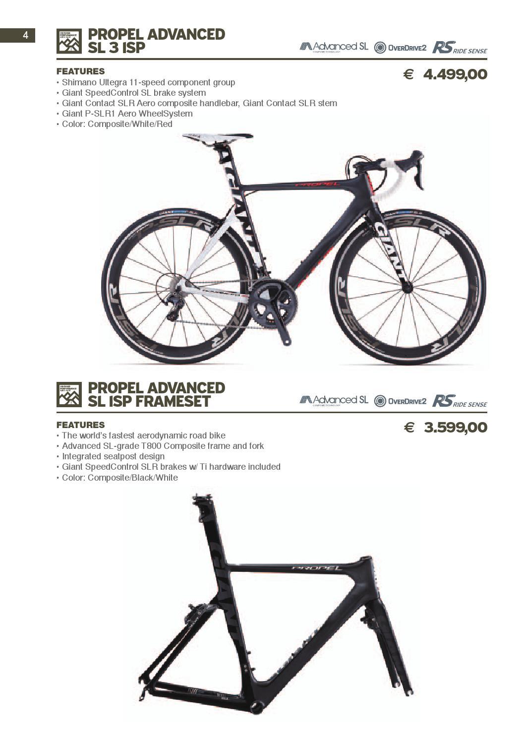 Pricelist Giant Italia 2014 by GIANT Italia srl - issuu