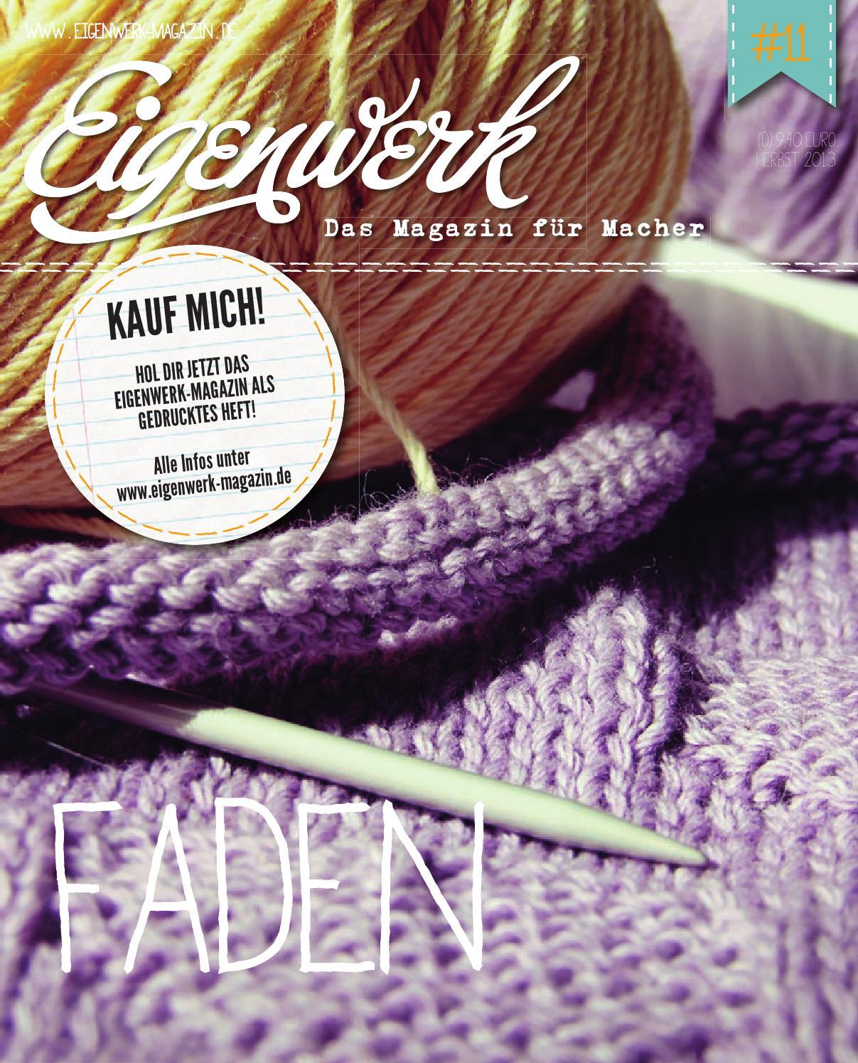 Eigenwerk-Magazin #11 by Eigenwerk-Magazin - issuu