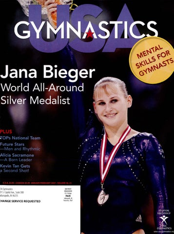Usa Gymnastics Januaryfebruary 2007 By Usa Gymnastics Issuu