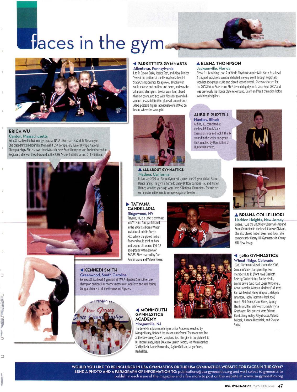 usa gymnastics may june 2009 by usa gymnastics issuu