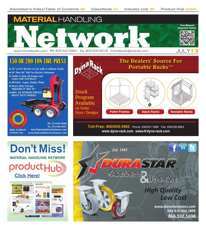 July 2013 By Material Handling Network Issuu Clark Gcx25 Wiring Diagram 1993