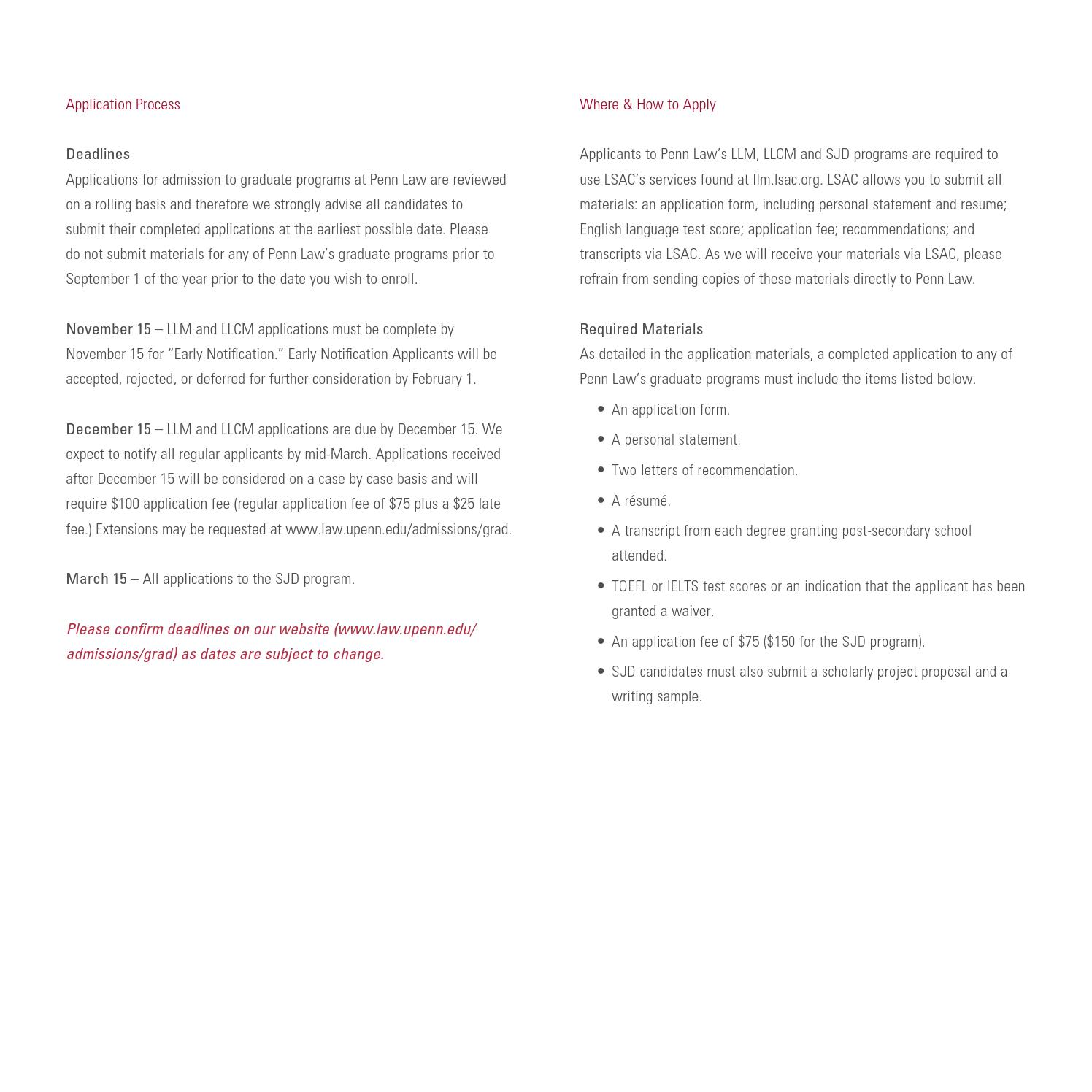 PERSONAL STATEMENT UPENN LLM