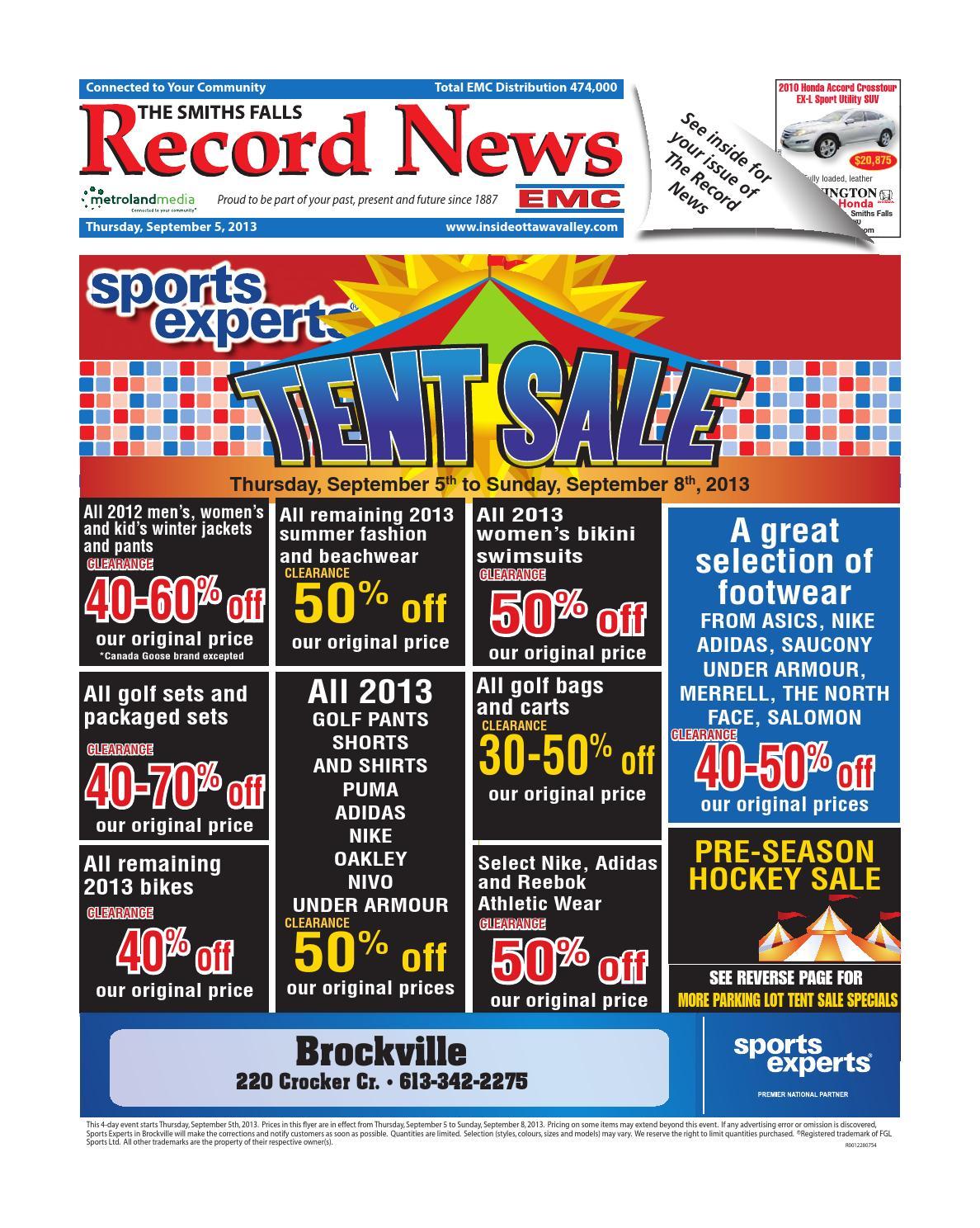 Metroland News Record East Smithsfalls090513 Issuu Smiths By Falls WrCxQdoBe
