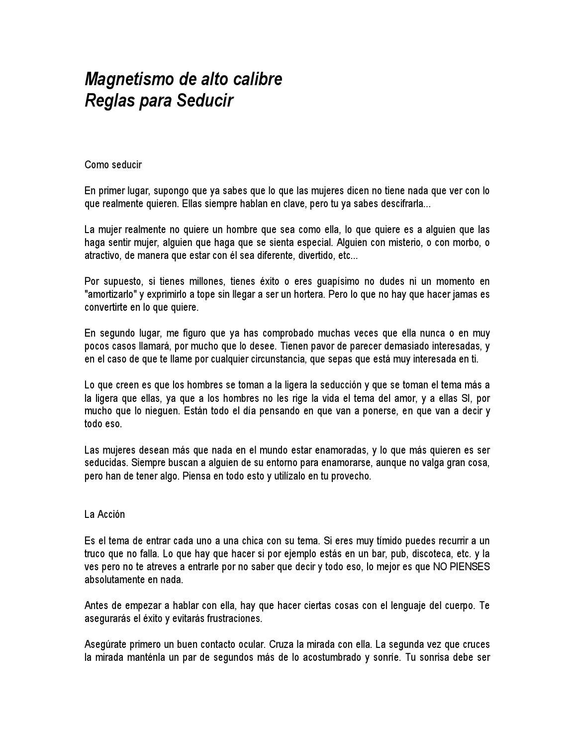 Anon magnetismo de alto calibre seduccion by C Mauricio Cnd - issuu