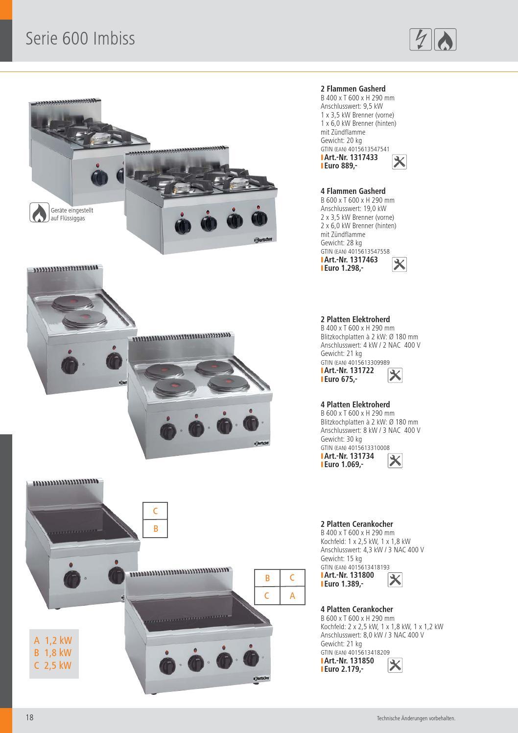 Bartscher Katalog 2013 Handelshof