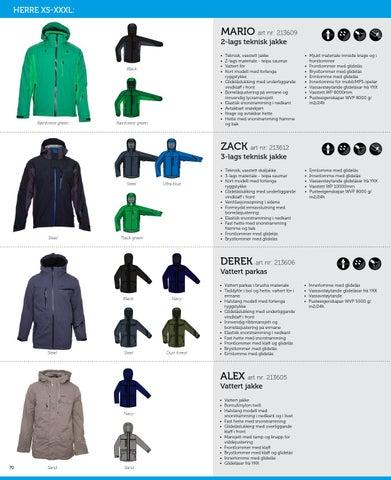 ac765f9f HERRE XS-XXXL: MARIO art nr: 213609 2-lags teknisk jakke ...
