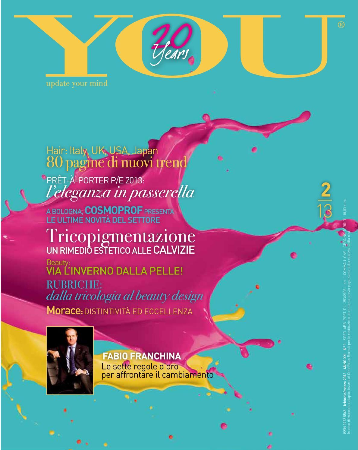 You 02 2013 by parrucchieria - issuu 8fe5e0eeb83e