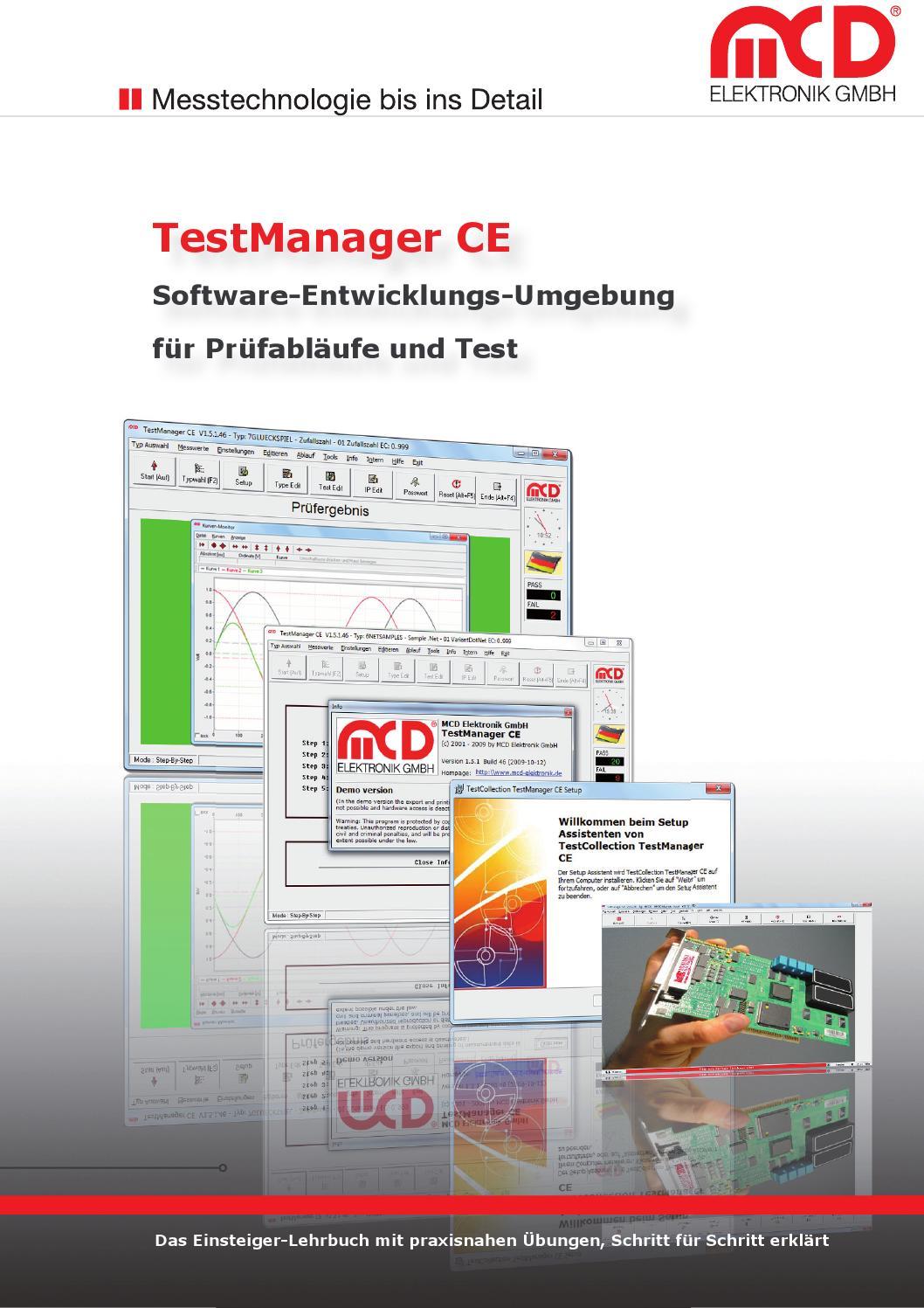 TestManager Prüfsoftware by MCD Elektronik GmbH - issuu