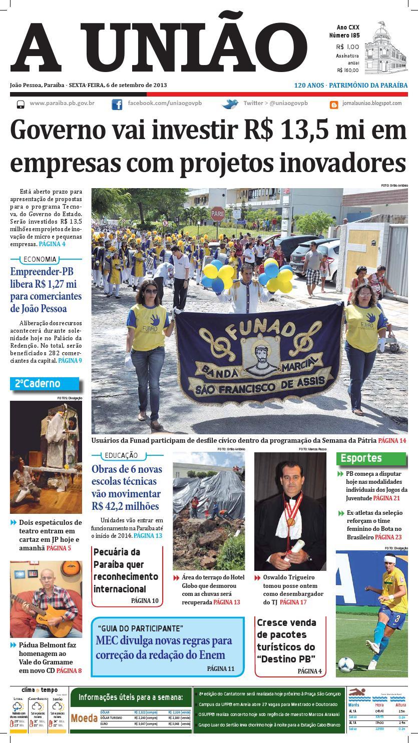 e7aa30484ac05 Jornal A União by Jornal A União - issuu