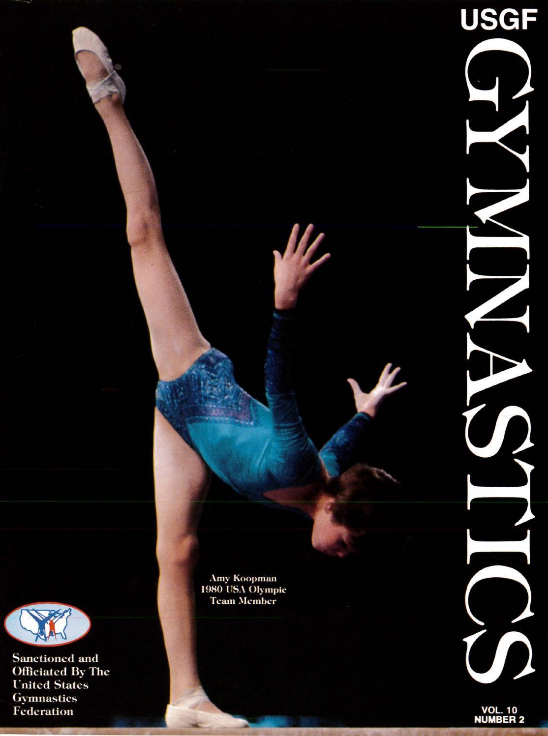USGF Gymnastics - March/April 1981 by USA Gymnastics - issuu