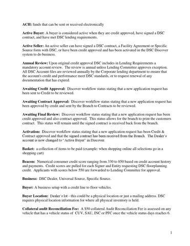 Glossary By Nextgear Capital Issuu