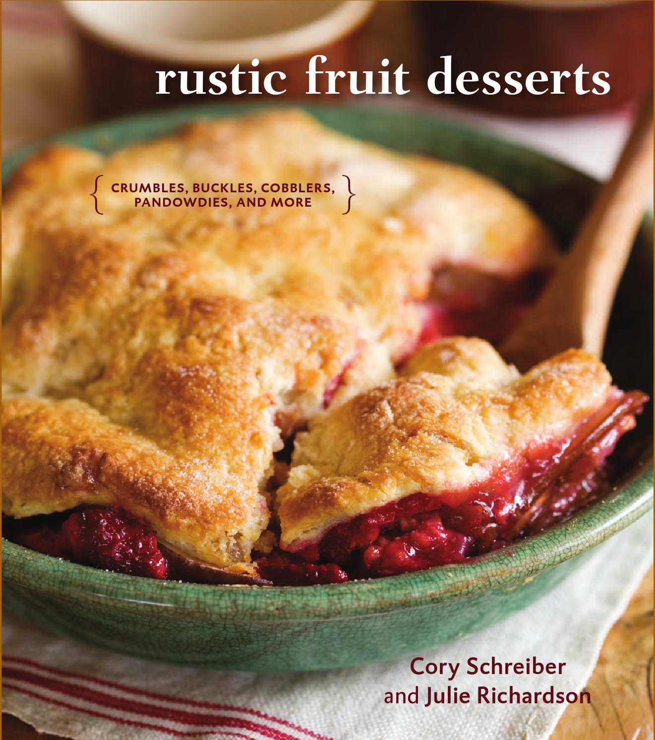 pictures Chef Richards Cherry-Filled Baked Peach With Pie Topping