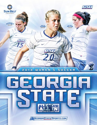 f19c33815c4 2013 Georgia State Women s Soccer Media Guide by GSU Panthers - issuu