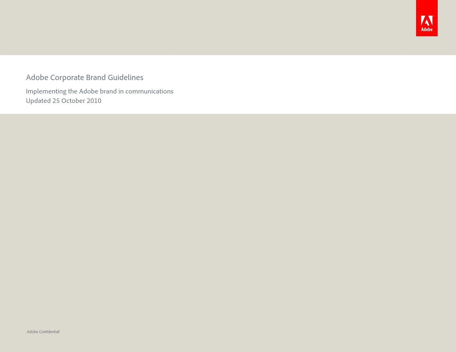 Corporate brand guidelines by christopher corgiat issuu for Adobe mission statement