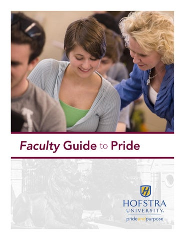 Charming Hofstra University Faculty Guide To Pride By Hofstra University   Issuu