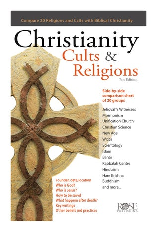 Christianity, Cults & Religions Pamphlet Preview by Rose Publishing