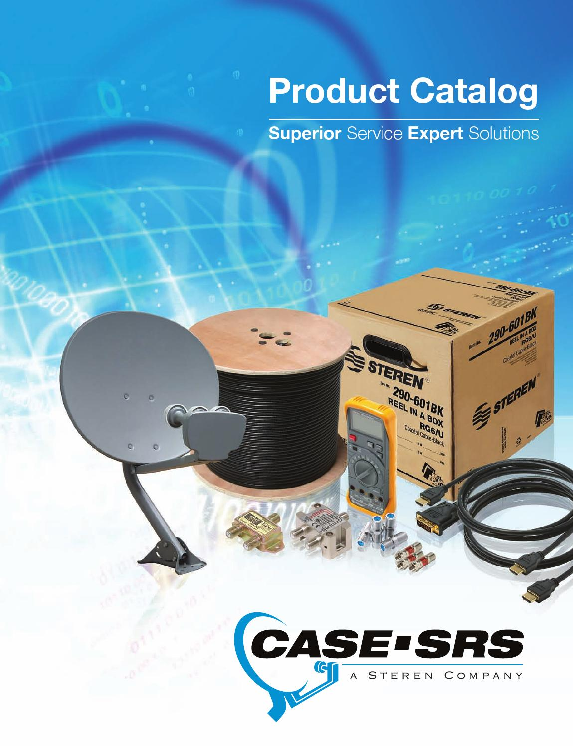 Case Av 2009 Product Catalog Complete By Issuu Twoway Multiswitch Splitter