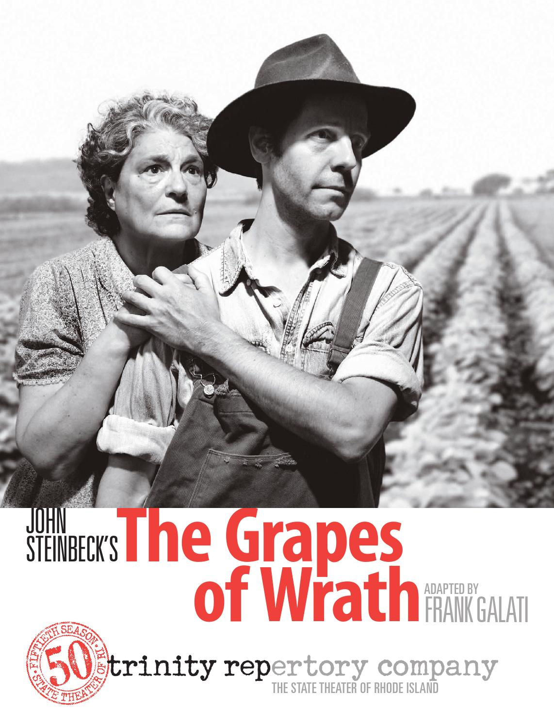 PRESS KIT The Grapes of Wrath by Trinity Repertory Company - issuu