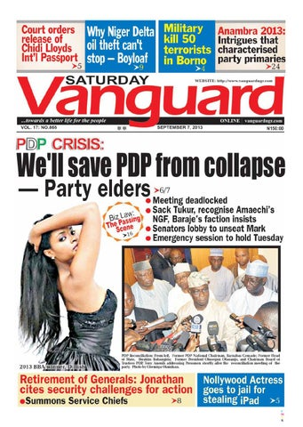 8b58f5e767077 We ll save PDP from collapse by Vanguard Media Limited - issuu