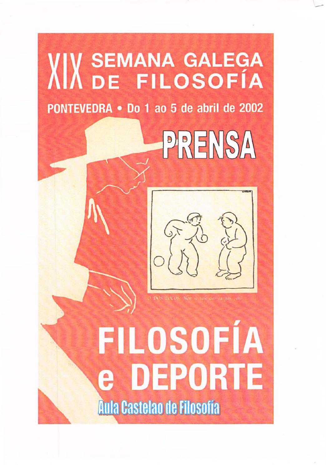 Xxi Semana Galega De Filosofia Dossier De Prensa By Aula Castelao  # Muebles El Zar Toedo