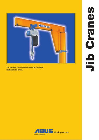 3 abus jib cranes by dimemk issuu rh issuu com Cat 4 Cable Wiring Diagram Ethernet Cable Wiring Diagram