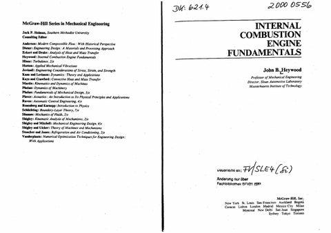 Ic Engine Books Pdf