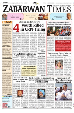 Zabarwan Times E-Paper English 08 September
