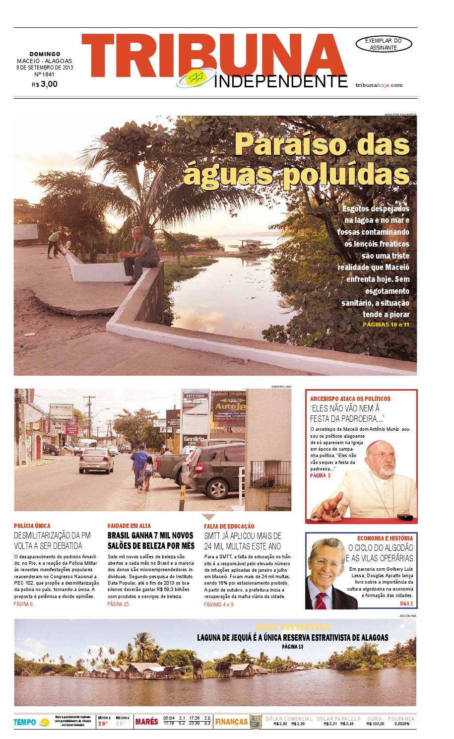 6765db2fe12 Edição número 1841 - 8 de setembro de 2013 by Tribuna Hoje - issuu