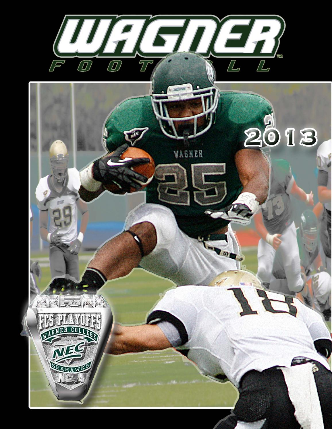 2013 Wagner College Football Media Guide By Wagner College Athletics
