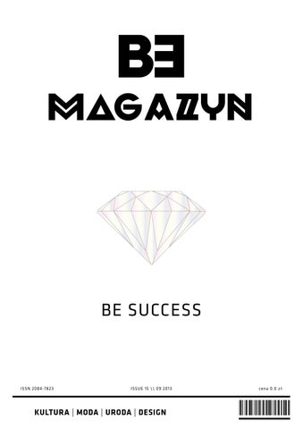 a5e295547a BE SUCCESS by Magazyn BE - issuu