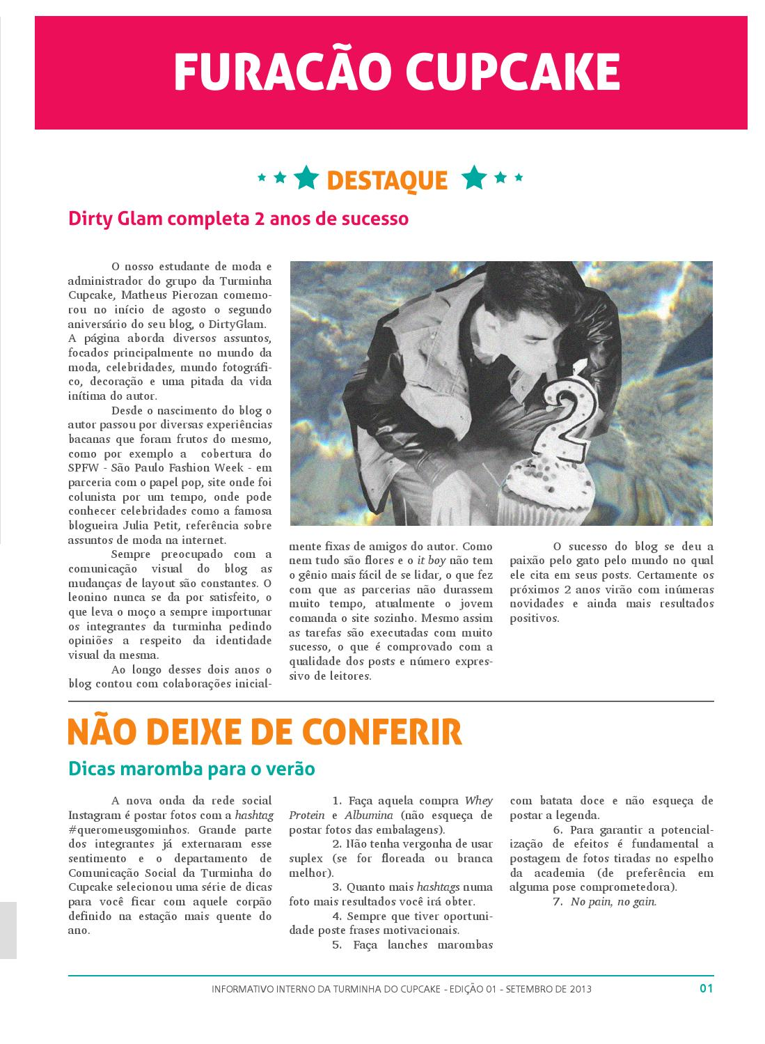 Turminha Do Cupcake Informativo By Jaquelini L Luz Issuu