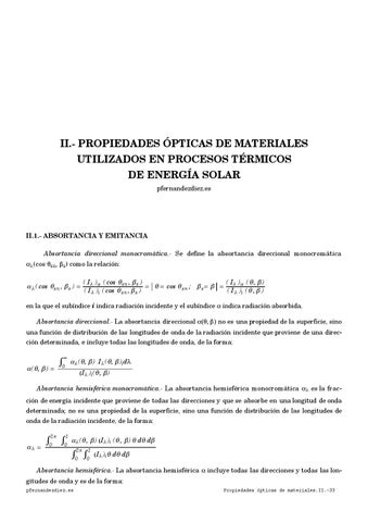 2. Propiedades ópticas de los materiales utilizados en procesos ...