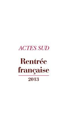 c375e039935 Rentrée Française 2013