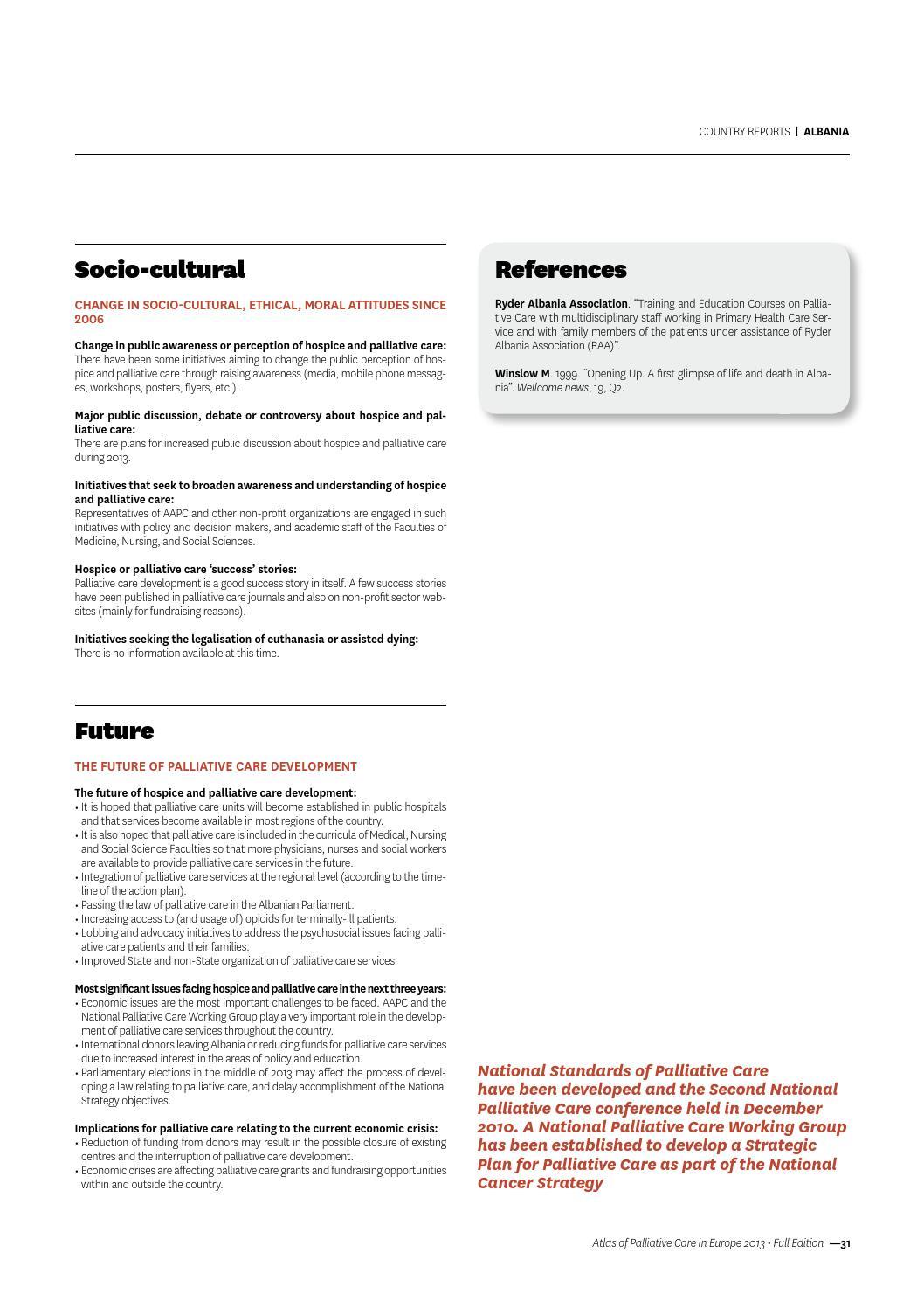 EAPC Atlas of Palliative Carein Europe 2013 by