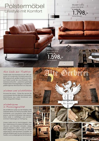 polsterm bel lifestyle mit komfort by andreas reko issuu. Black Bedroom Furniture Sets. Home Design Ideas