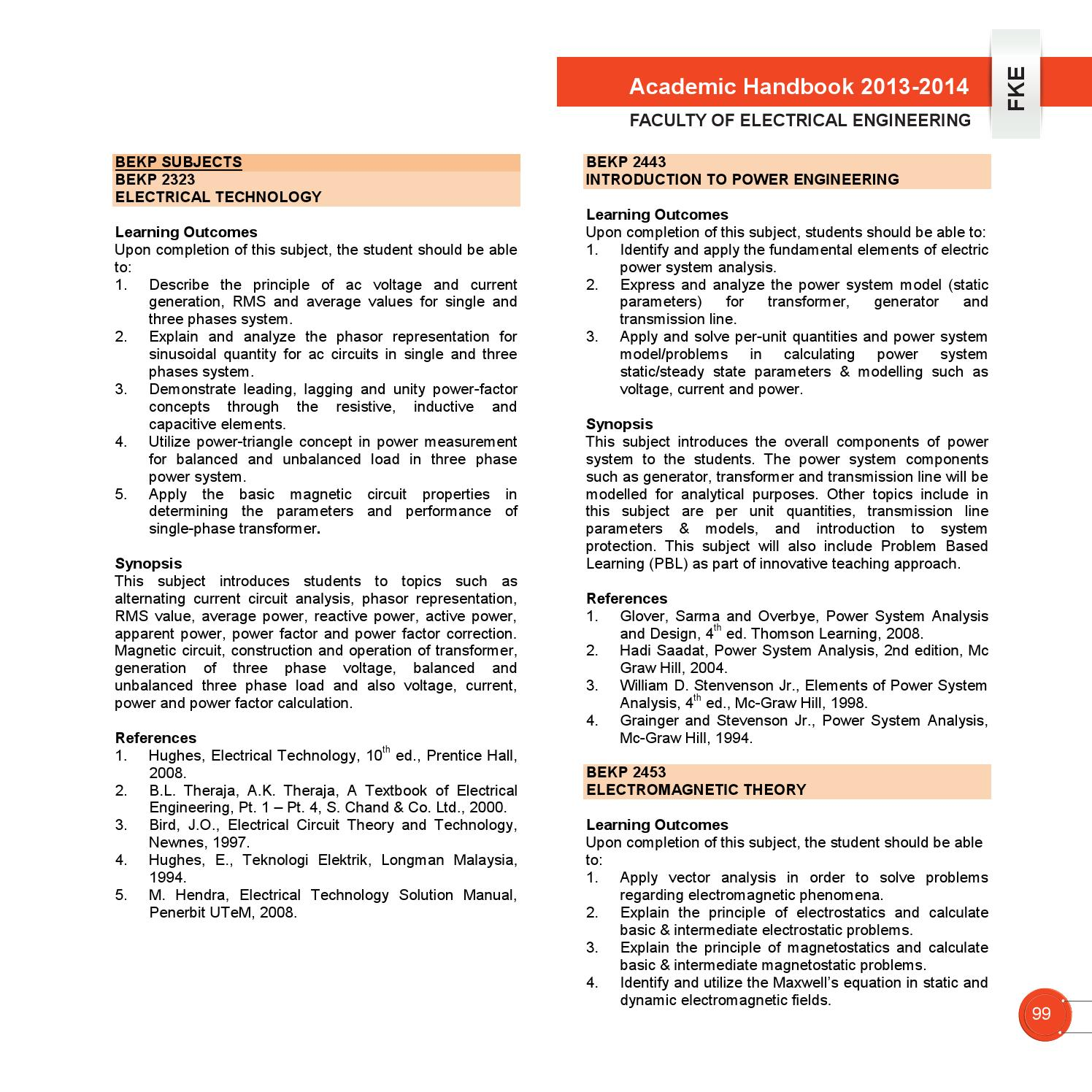 Academic handbook fke utem 20132014 by vincent loi issuu publicscrutiny Image collections