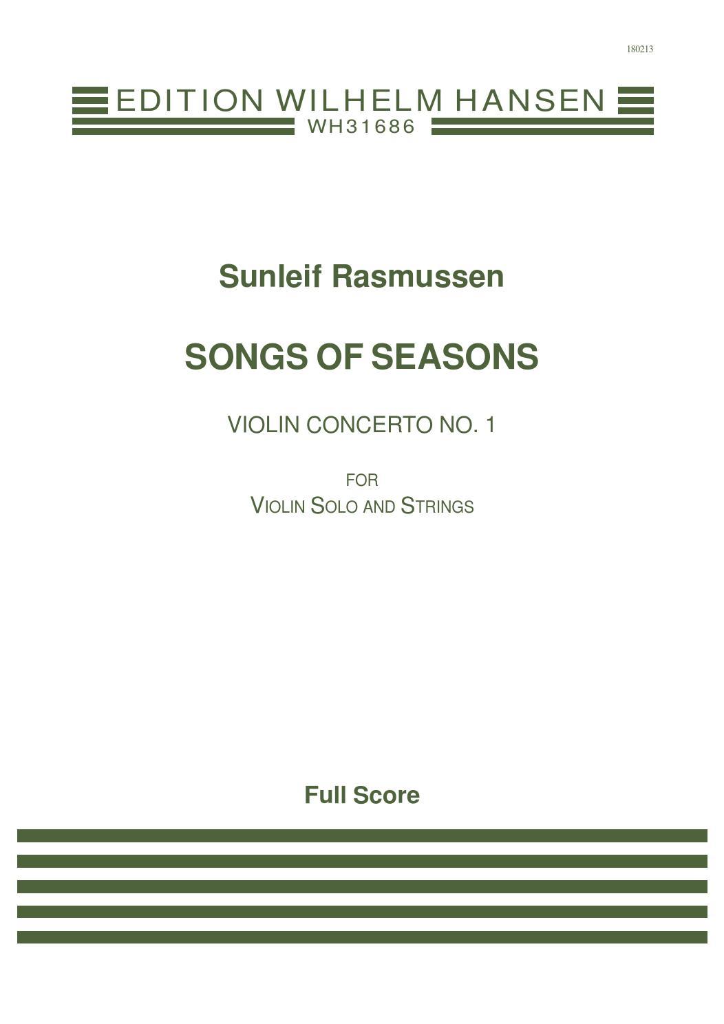 Rasmussen SONGS OF SEASONS by ScoresOnDemand - issuu