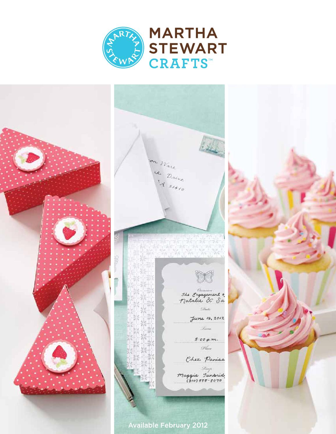 Martha Stewart Crafts Party Crafting Catalog by ScrapArt