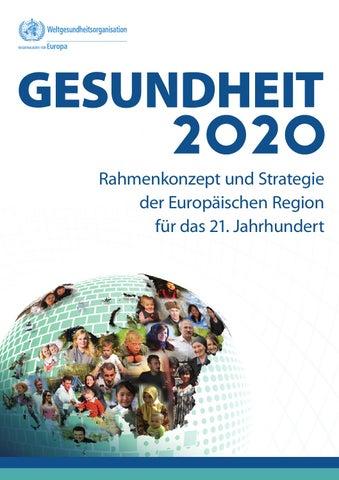 Gesundheit 2020: Rahmenkonzept und Strategie der Europäischen Region ...