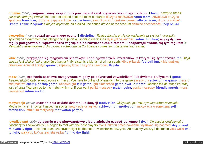 Słownik Polsko Angielski Mlingua By Kasia Issuu