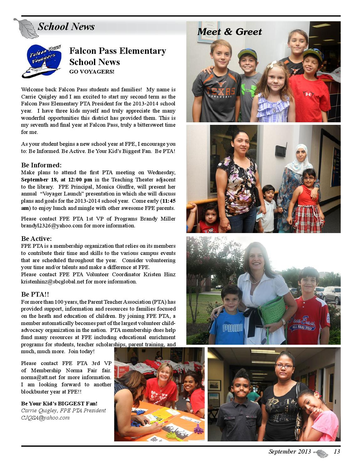 Bay Forest Newsletter, September 2013 by Bay Forest - issuu