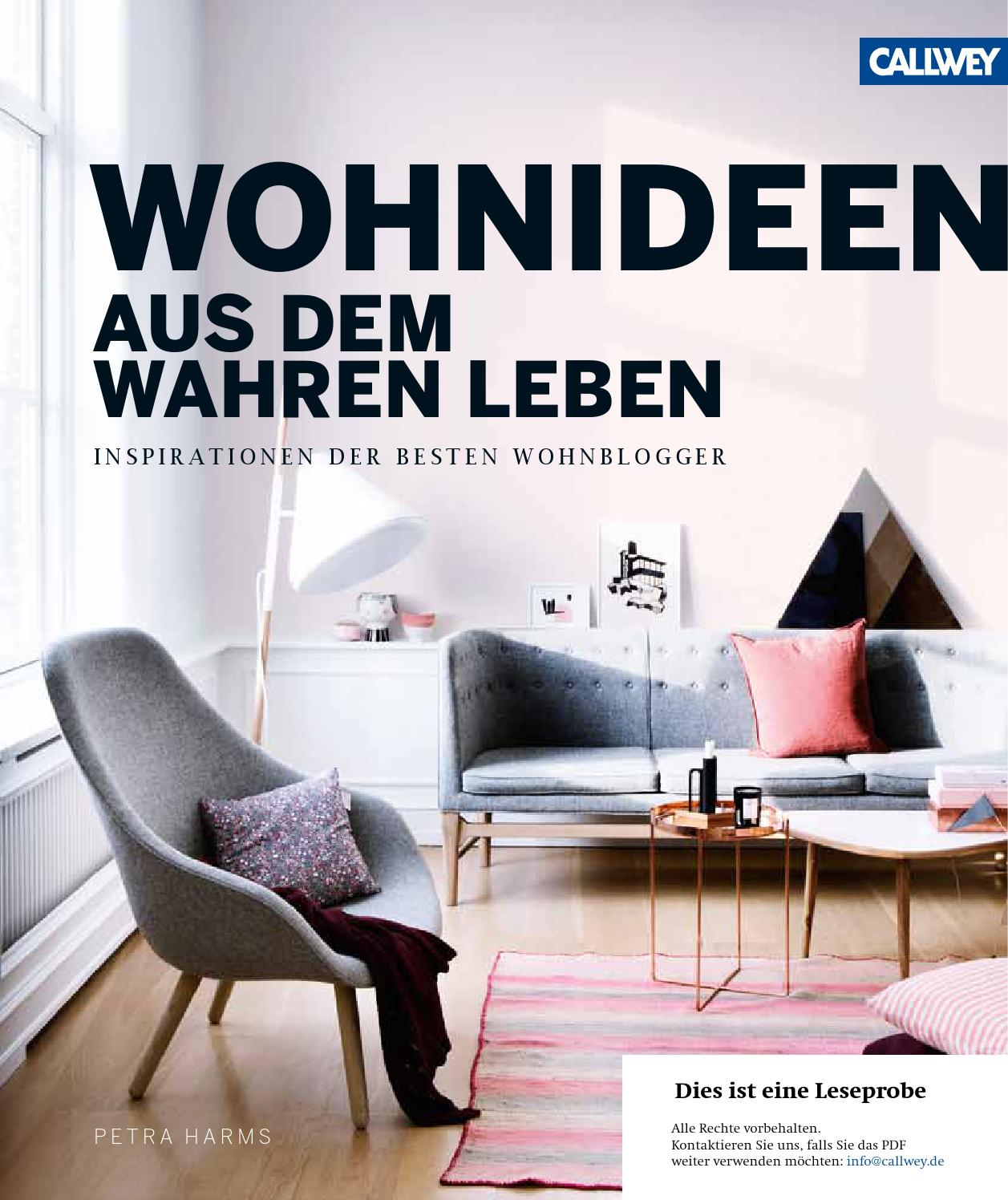 wohnideen aus dem wahren leben by georg d w callwey gmbh co kg issuu. Black Bedroom Furniture Sets. Home Design Ideas
