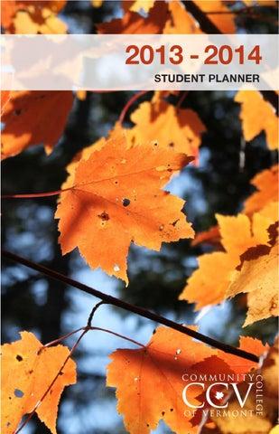 ccv student handbook 13 14 by community college of vermont issuu
