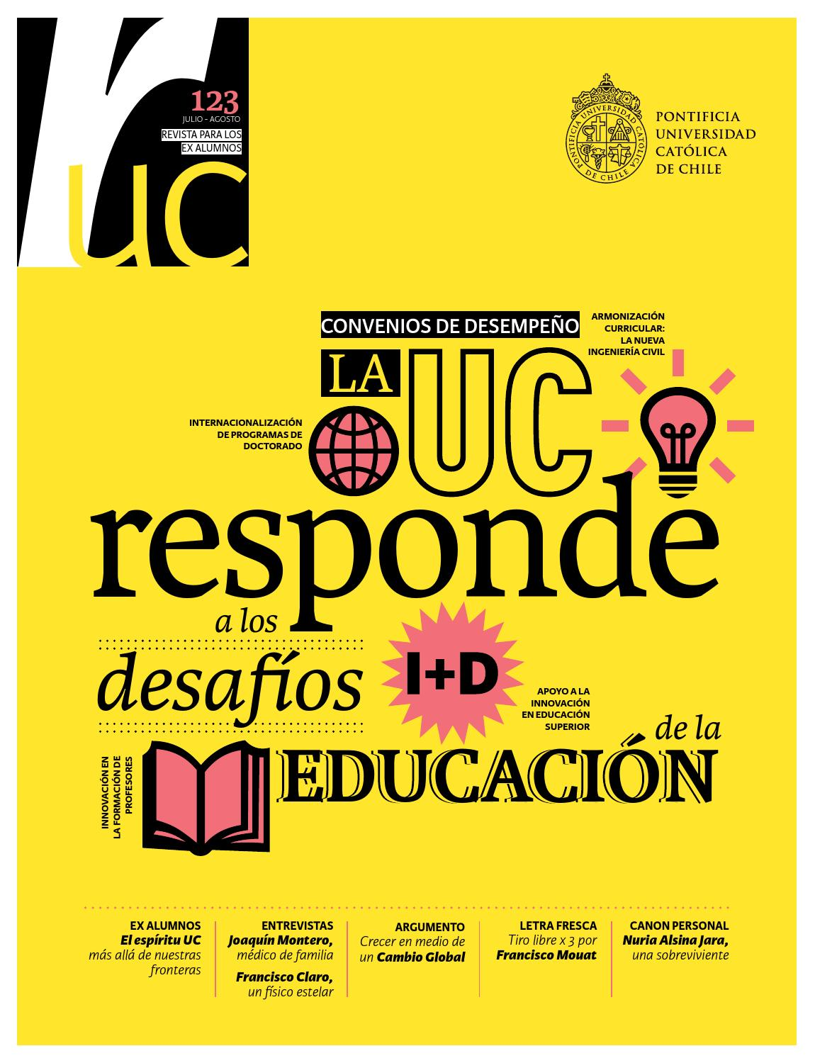 Revista Universitaria 123 by Publicaciones UC - issuu
