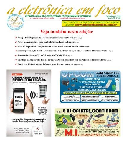 Edição Agosto 2013 by A Eletronica em Foco - issuu caeeb11bcf