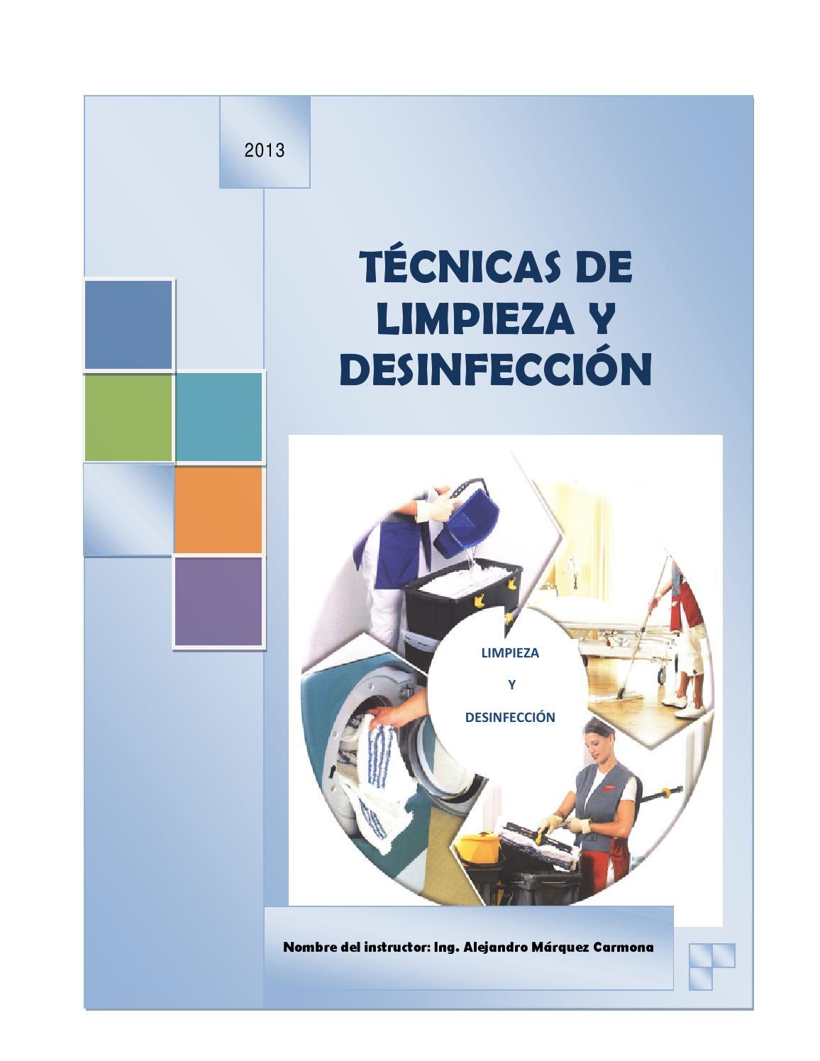 Limpieza y desinfecci n by el macho issuu for Limpieza y desinfeccion de equipos y utensilios de cocina