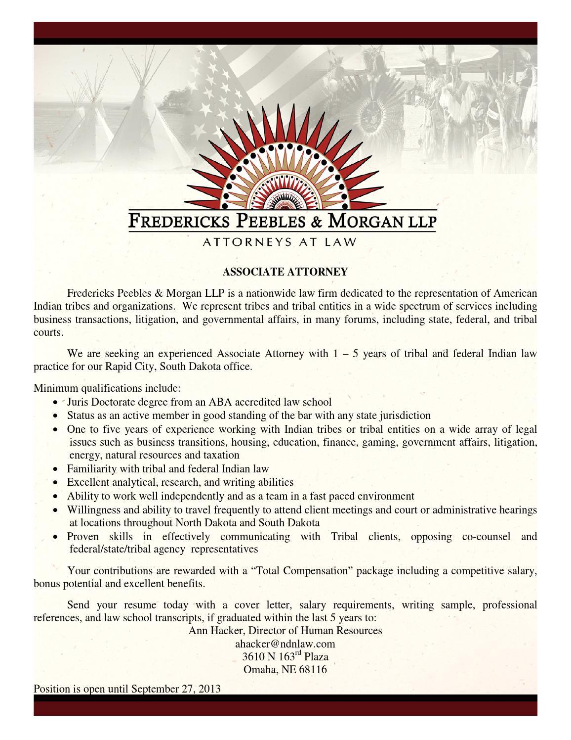 2013 FPM Rapid City Associate Attorney by 314060 - issuu