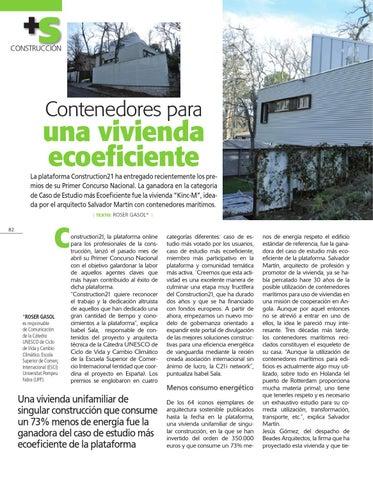 Contenedores para una vivienda ecoeficiente by roser gasol - Contenedores para vivienda ...