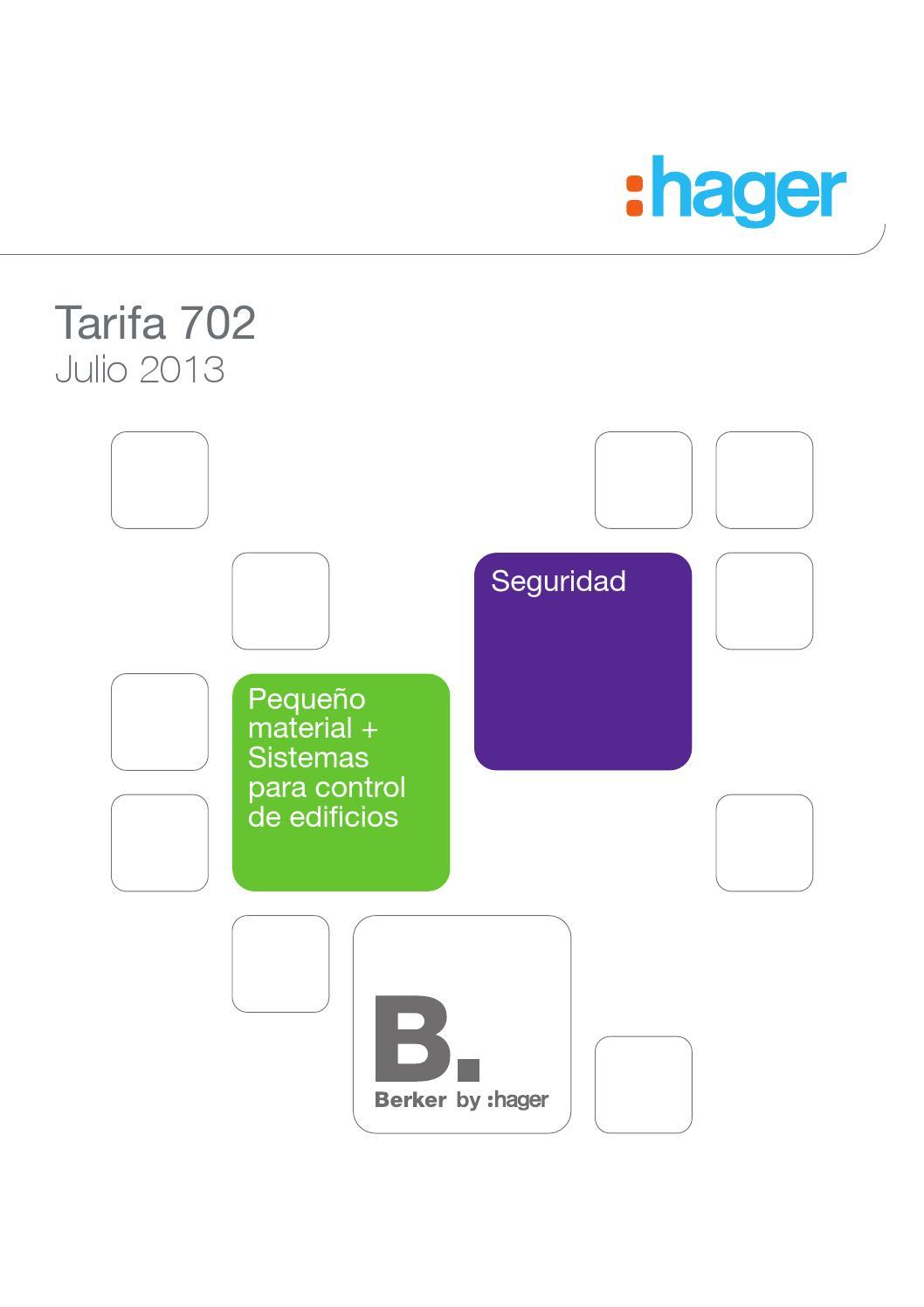 Hager TRB201 Detector de Movimiento